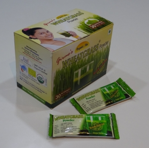 3g x 30 sachet pack of Wheat Grass Powder (002)